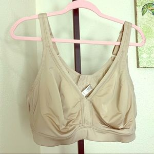 Cacique full coverage comfort bra beige 48D